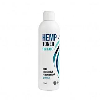 Тоник конопляный увлажняющий для лица Hydrating Hemp  Toner  for face 1753 cosmetics, 250 мл
